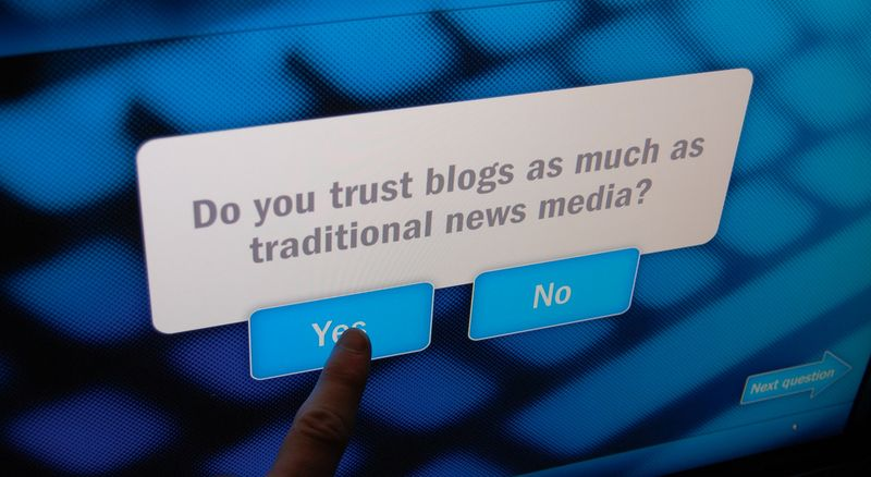 Can Blogs Build Online Brand Presence